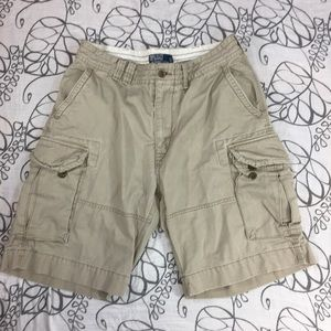 Polo Men's Cargo Shorts Ralph Lauren Khaki 34